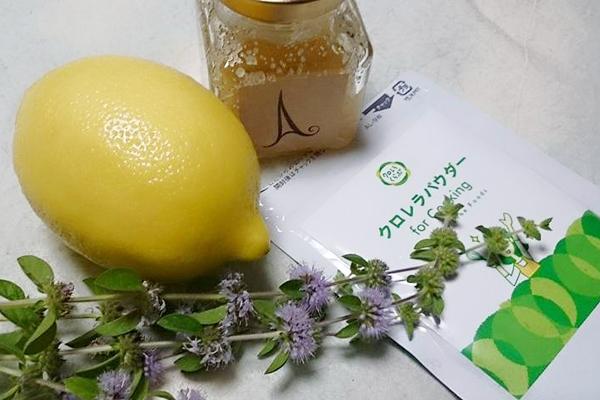 熱中症対策「クロレラ レモンドリンク」