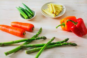 野菜のテリーヌとコーディアルドレッシング