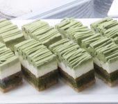 クロレラ抹茶ケーキ