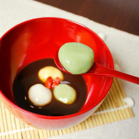 お豆腐で作るもちふわヴィーガンレシピ 白玉だんご