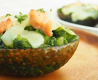 ヘルシー時短節約レシピ アボカドと鮭のほくほくグラタン