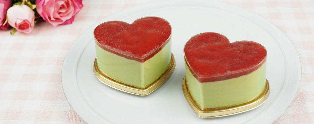 バレンタインに☆ ハート型のチョコレートムースの作り方